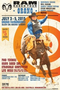 Orono Rodeo poster